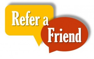 refer a friend prize draw