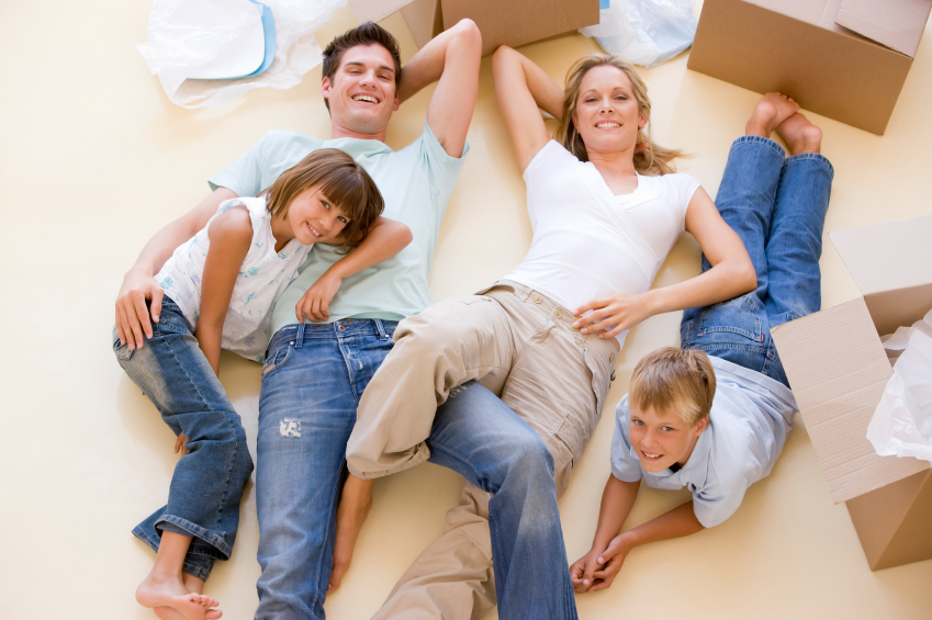 Moving to a new home can be a very stressful experience.
